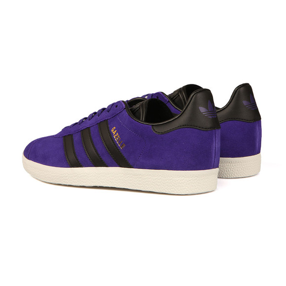 adidas Originals Mens Purple Gazelle Trainer main image