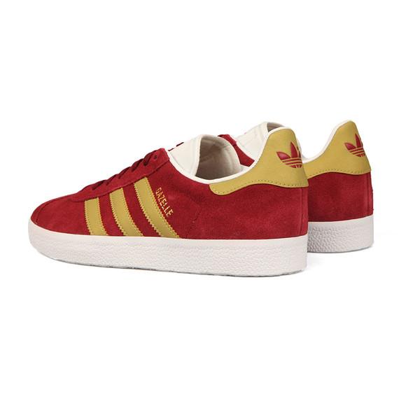 Adidas Originals Mens Red Gazelle Trainer main image
