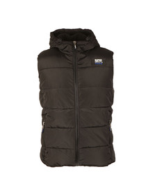 Superdry Mens Black Sports Puffer Gilet