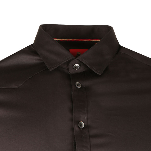 Luke Mens Black Butchers Pencil 2 LS Shirt main image