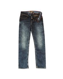Luke 1977 Mens Blue Freddy Slim Straight Jean