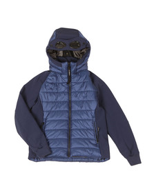 CP Company Undersixteen Boys Blue Puffer Soft Shell Jacket