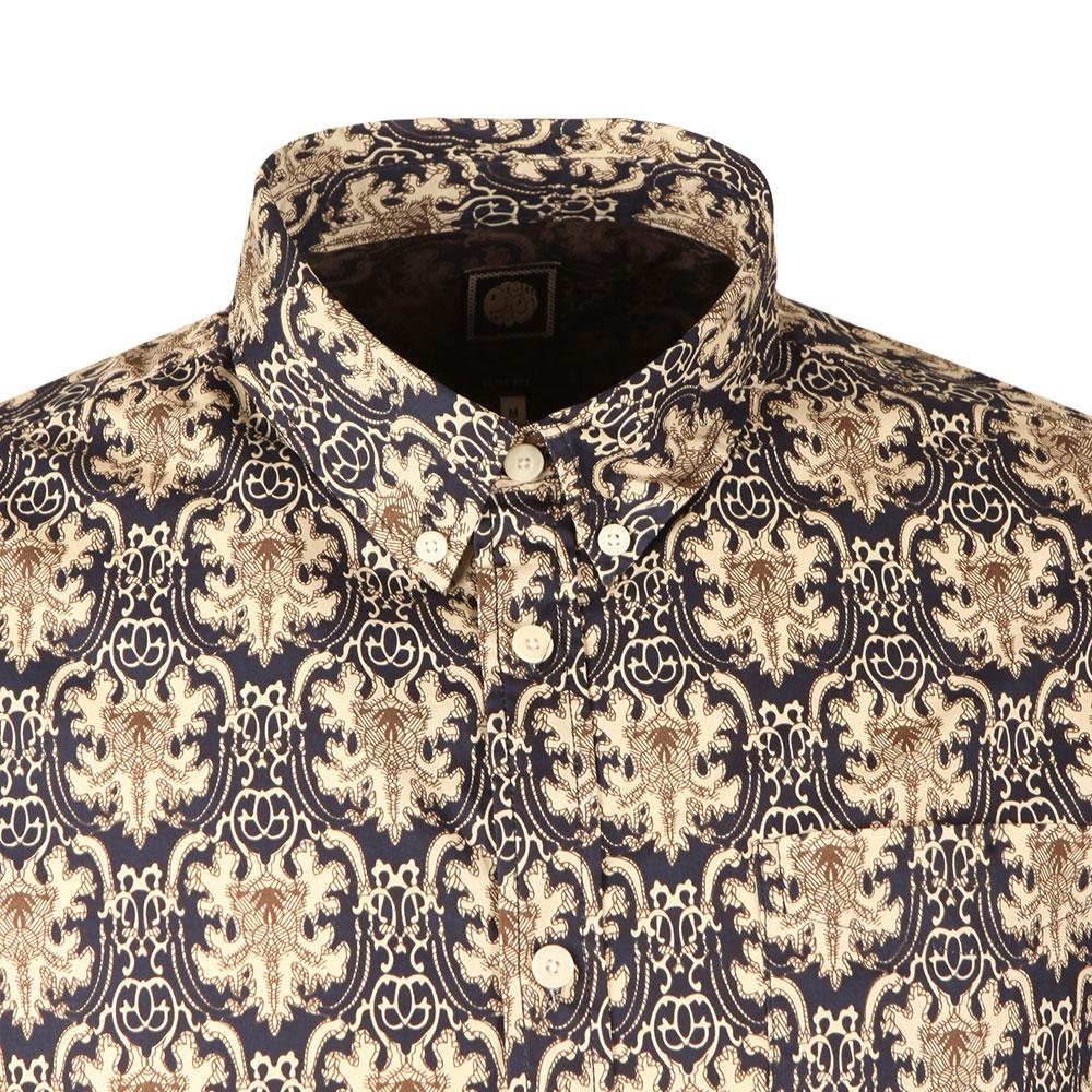 Slim Fit Abstract Print Shirt main image