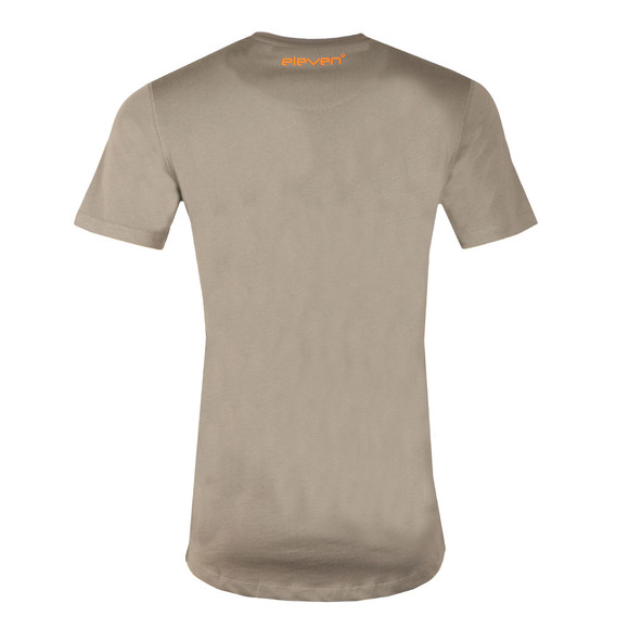 Eleven Degrees Mens Grey Contrast Logo T Shirt main image