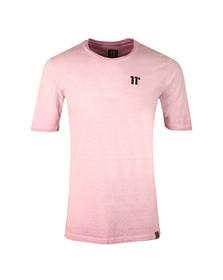 Eleven Degrees Mens Purple Oil Dye T Shirt