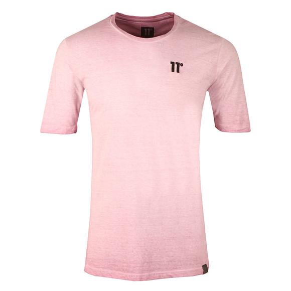 Eleven Degrees Mens Purple Oil Dye T Shirt main image