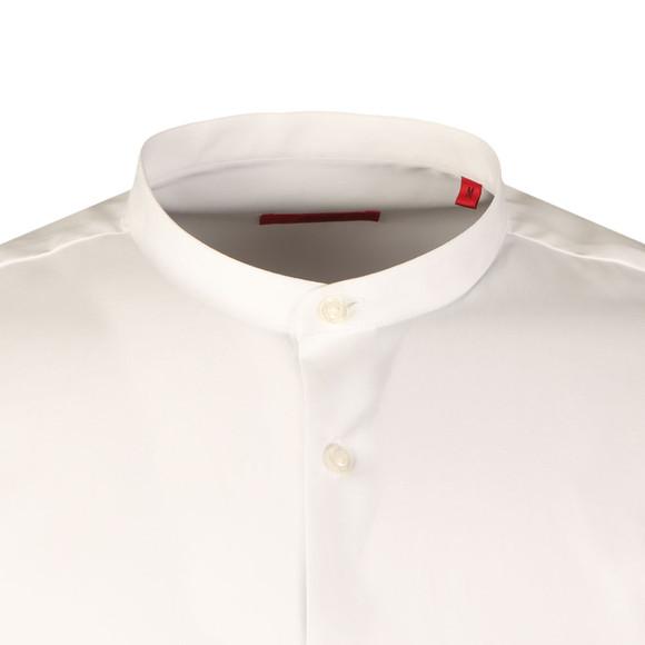HUGO Mens White Eddison Shirt