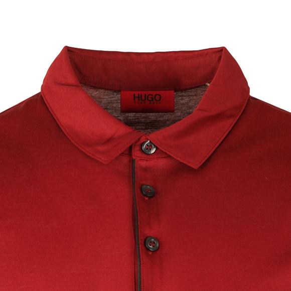 HUGO Mens Purple Diracle Polo Shirt