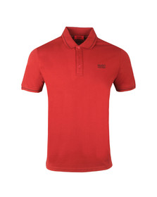 Hugo Mens Red Daruso Polo Shirt