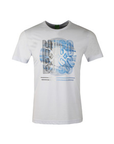 Boss Green Mens Blue Tee 3 T Shirt