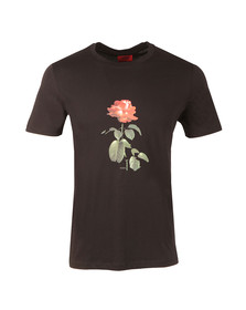 Hugo Mens Black Drose T Shirt