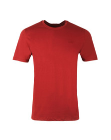 Hugo Mens Red Dero Crew T Shirt