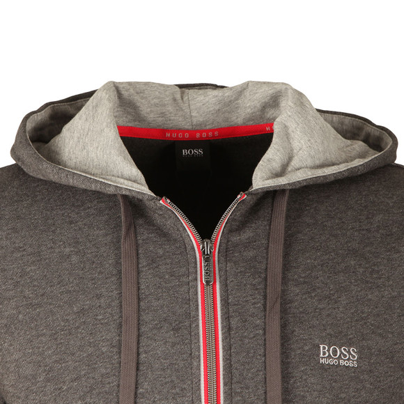 BOSS Loungewear Mens Grey Authentic Jacket main image