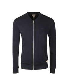 Diesel Mens Blue Bal Full Zip Sweat