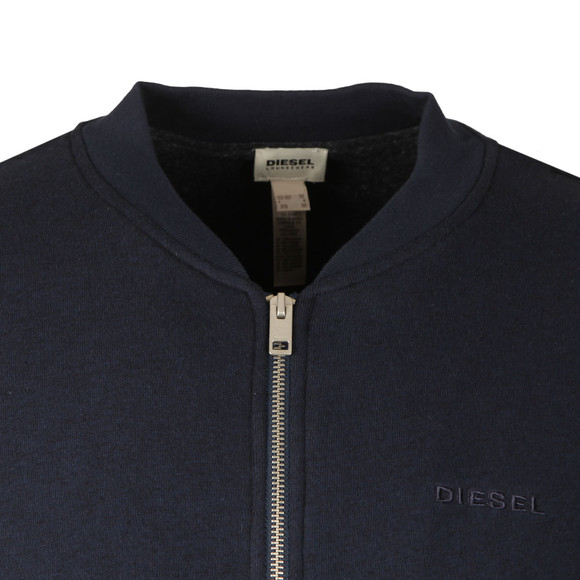 Diesel Mens Blue Bal Full Zip Sweat main image