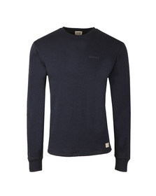 Diesel Mens Blue Willy Crew Sweatshirt