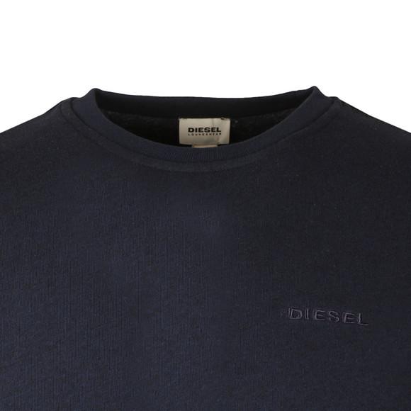 Diesel Mens Blue Willy Crew Sweatshirt main image