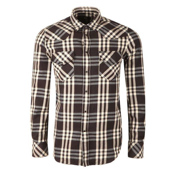Diesel Mens Blue S-East Long Shirt main image