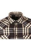 Diesel Mens Blue S-East Long Shirt
