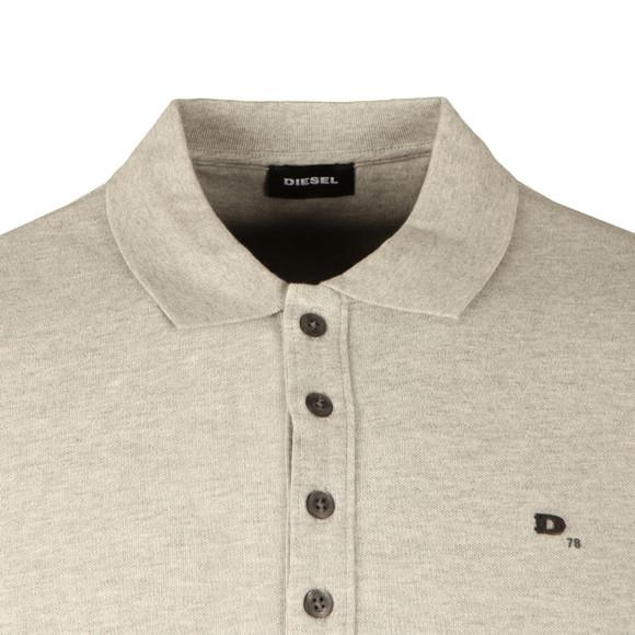 Diesel Mens Grey T Heal Polo Shirt main image