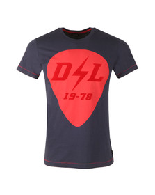 Diesel Mens Blue Diego RB T-Shirt