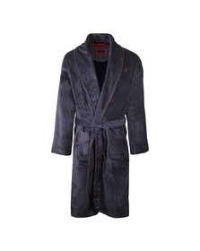 Ted Baker Mens Blue Dressing Gown with Piping