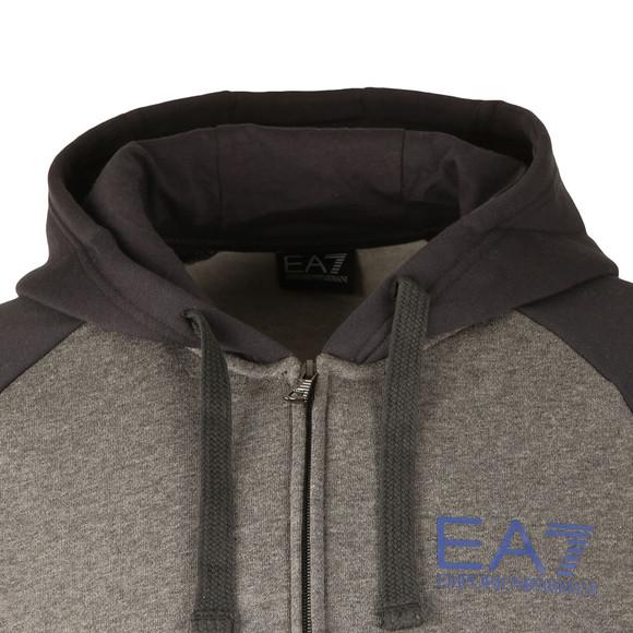EA7 Emporio Armani Mens Grey Two Tone Tracksuit main image