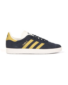 Adidas Originals Mens Navy/gold Gazelle Trainer