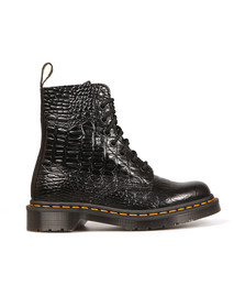 Dr Martens Womens Black Croc Pascal Boot