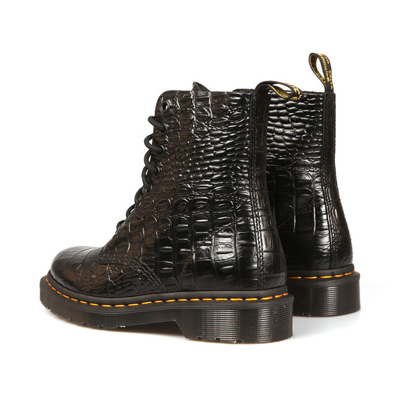 Dr Martens Womens Black Croc Pascal Boot main image