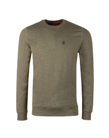 Luke Mens Green 101 Crew Sweat