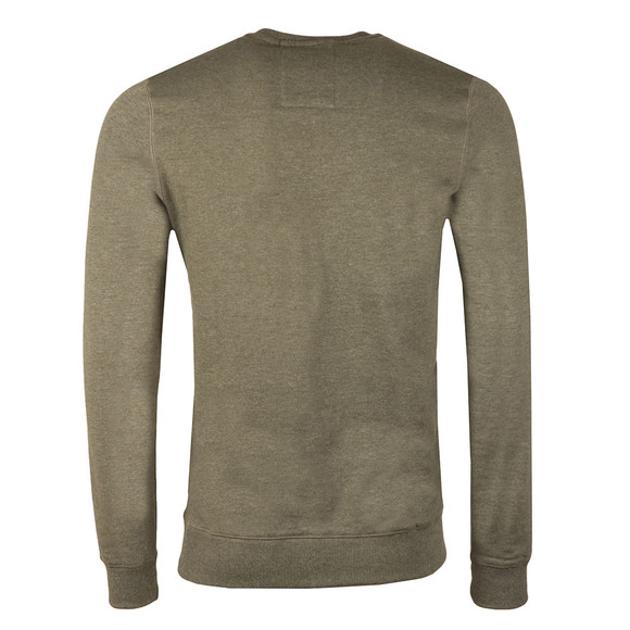 Luke Mens Green 101 Crew Sweat main image