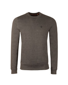 Luke Mens Grey 101 Crew Sweat