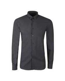 J.Lindeberg Mens Blue Daniel CBU Cotton Mouline Shirt
