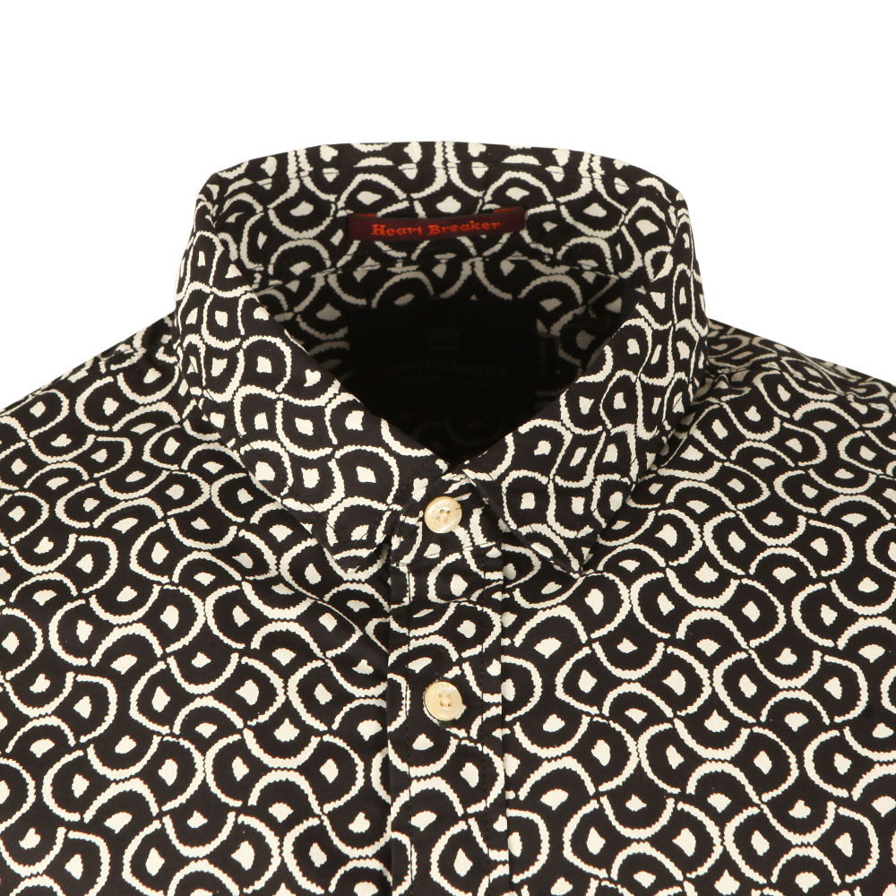 Patterned Long Sleeve Shirt main image