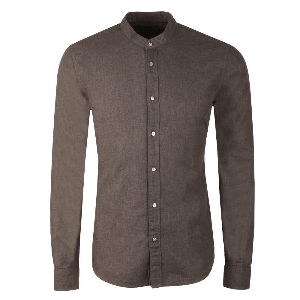 Collarless L/S Shirt main image