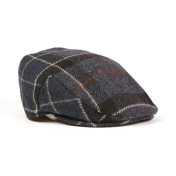Barbour Lifestyle Mens Blue Moons Tweed Cap main image