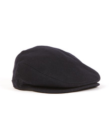 Barbour Lifestyle Mens Blue Redshaw Flat Cap