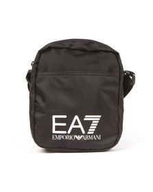 EA7 Emporio Armani Mens Black Large Logo Pouch