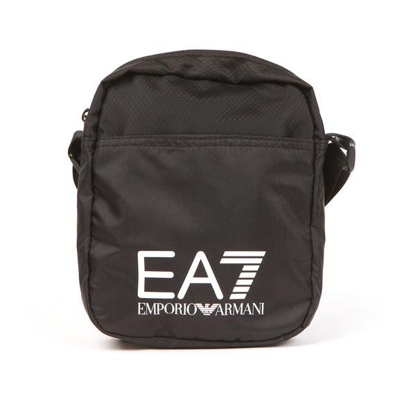 EA7 Emporio Armani Mens Black Large Logo Pouch main image