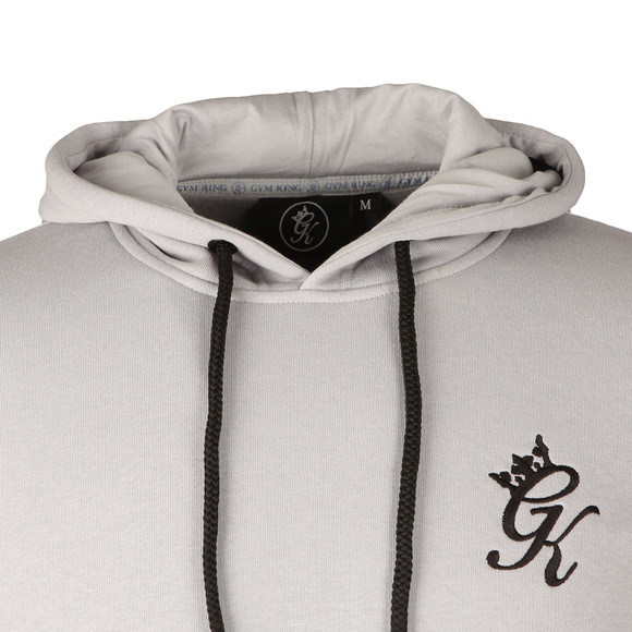 Gym King Mens Blue Overhead Hoody main image