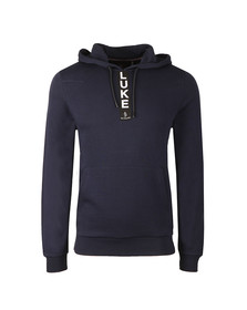 Luke Mens Blue Old Well Overhead Hoody