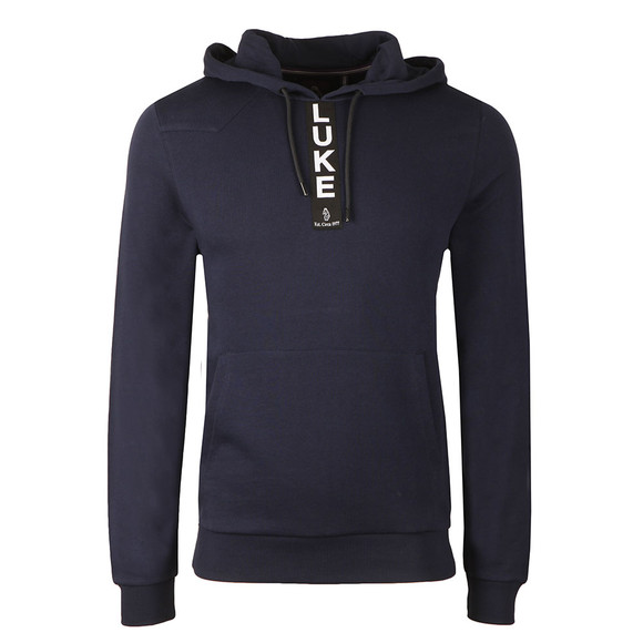 Luke Mens Blue Old Well Overhead Hoody main image