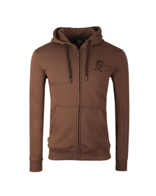 Gym king Mens Brown Core Tracksuit Top