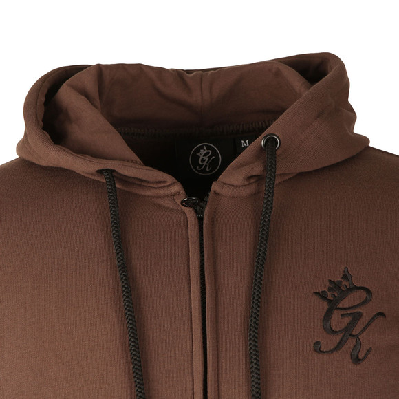Gym king Mens Brown Core Tracksuit Top main image