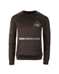 Kings Will Dream Mens Black Kione Sweat