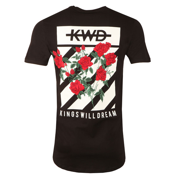 Kings Will Dream Mens Black Pyne Chevron  T Shirt main image