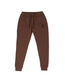 Gym king Mens Brown Core Tracksuit Bottoms