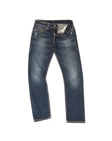 True Religion Mens Blue Geno No Flap Super T Jean
