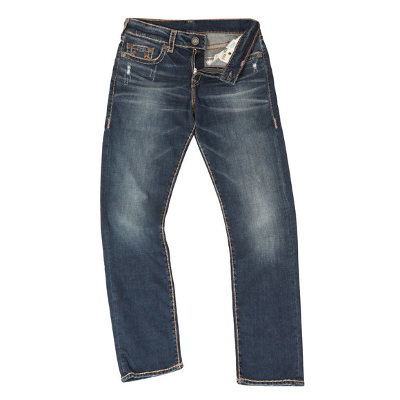 True Religion Mens Blue Geno No Flap Super T Jean main image